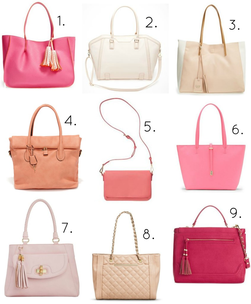 pink bags under $100 main