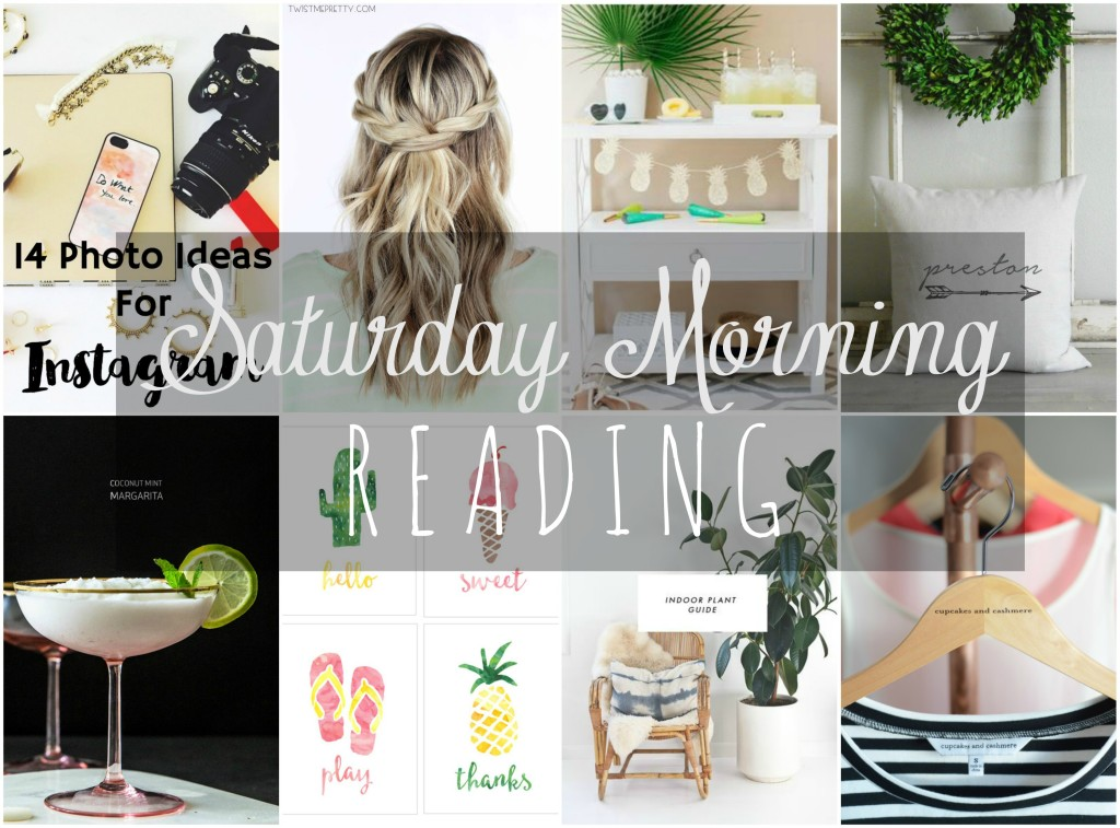 Saturday Mornind Reading 7-11-15 Collage